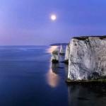 Фотография на море и скала